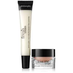 Philosophy Online Exclusive,kiss Me Fresh Cream Lip Duo