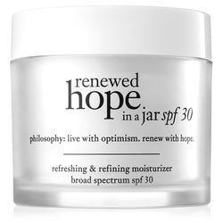 Philosophy Refreshing & Refining Moisturizer Broad Spectrum Spf 30 Sunscreen,renewed Hope In A Jar Spf 30