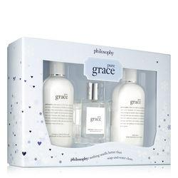 Philosophy Shampoo, Bath & Shower Gel, Spray Fragrance And Body Lotion,pure Grace Holiday Set