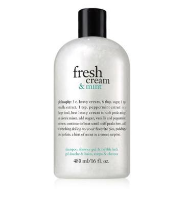 Philosophy 16 Oz. Shower Gel,fresh Cream & Mint