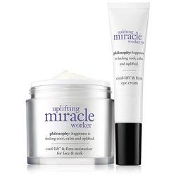 Philosophy Cool-lift & Firm Moisturizer For Face & Neck And Eye Cream,uplifting Miracle Worker Face And Eye Duo