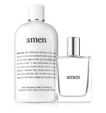 Philosophy Mens Shampoo, Bath, And Shower Gel & Men's Spray Cologne,amen