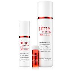 Philosophy 100% In Control Daily Age-defying Serum And Eye Serum,time In A Bottle Duo