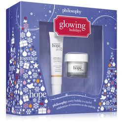 Philosophy .5 Fl Oz Moisturizer & Glow Drops Instant Radiance Ampoule,glowing Holidays