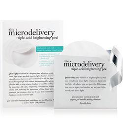 Philosophy Triple-acid Brightening Peel Pre-saturated Chemical Peel Pads,the Microdelivery