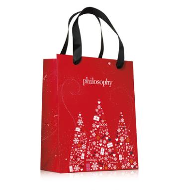 New For Holiday!,philosophy Gift Bag