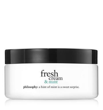 Philosophy 8 Oz. Glazed Body Souffl,fresh Cream & Mint