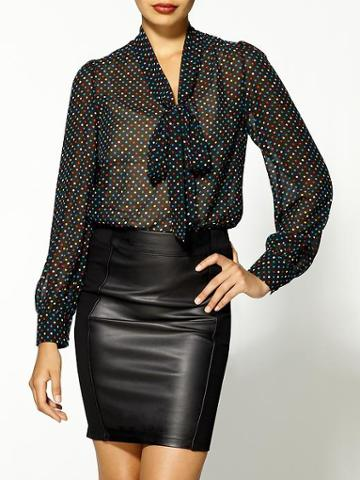 Tinley Road Bow Tie Blouse