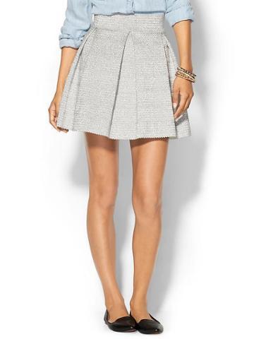 Parker Zambi Skirt - Silver