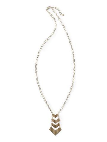 Tinley Road Chevron Long Necklace