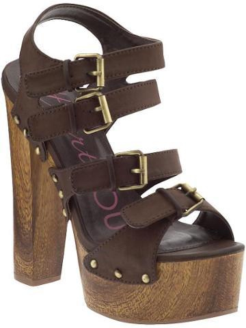 Heart Soul Gaby High Sandals