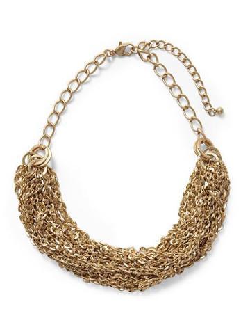 Hive & Honey Torsade Statement Necklace - Gold