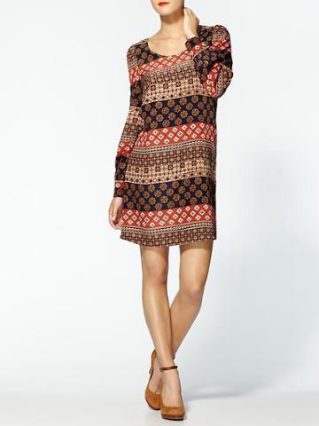 Tinley Road Printed A Line Mini Dress