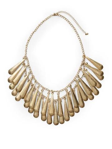 Tinley Road Teardrop Metal Necklace