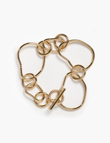 Pixie Market Abstract Link Bracelet