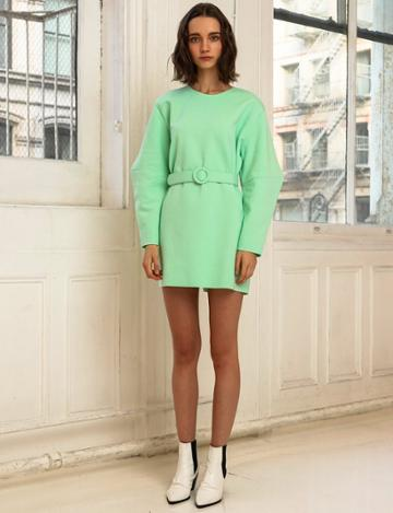 Pixie Market Mint Belted Dress