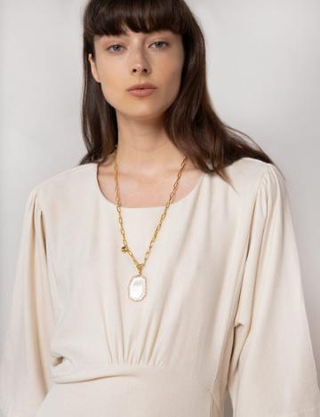 Pixie Market Crystal Pendant Long Necklace