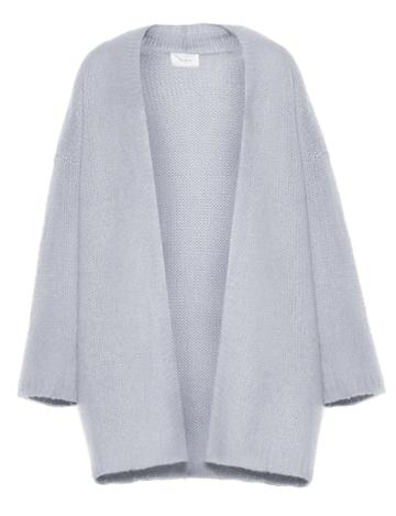 Pixie Market Icy Blue Long Cardigan