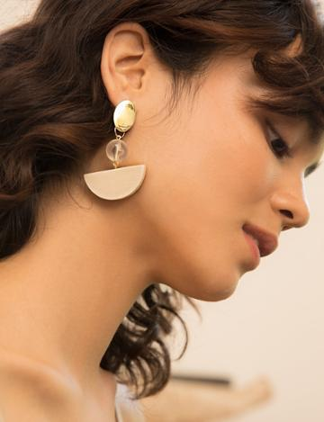 Pixie Market Semi Mobile Earrings