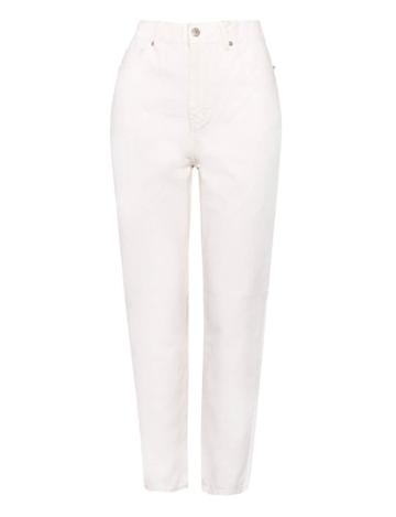 Pixie Market Off-white High Waist Jeans