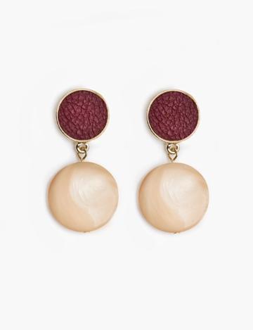 Pixie Market Pearlized Drop Earrings