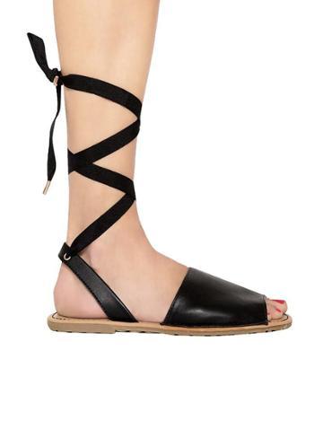 Pixie Market Lilia Wrap Sandals