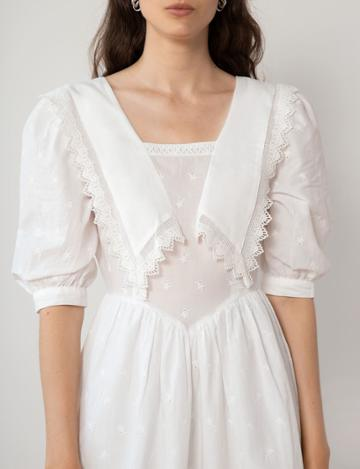Pixie Market Tilda Lace Collar Dress