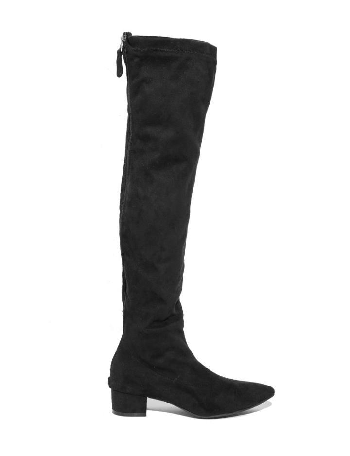 Pixie Market Stella Thigh High High Suede Boots