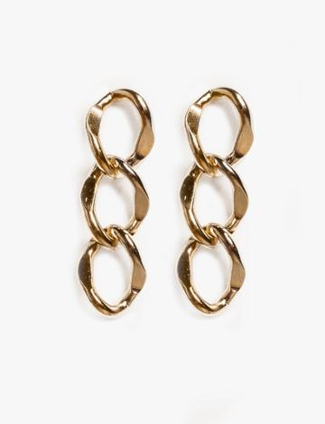 Pixie Market 3 Link Drop Earrings