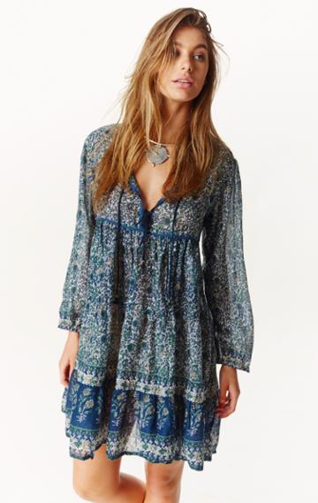 Planet Blue Floral Dress
