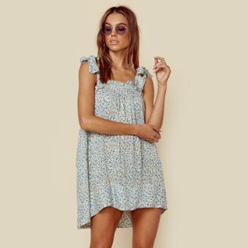 Faithfull The Brand Ocean Dip Dress Dresses