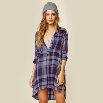 Tru Blu Shirt Dress Dresses