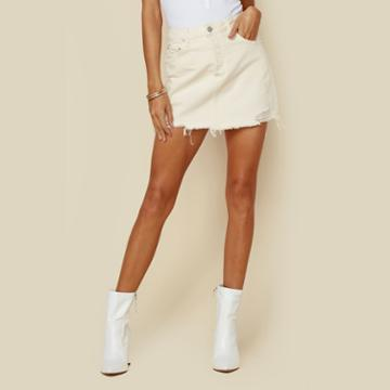 Boyish High Waist Skirt Bottoms