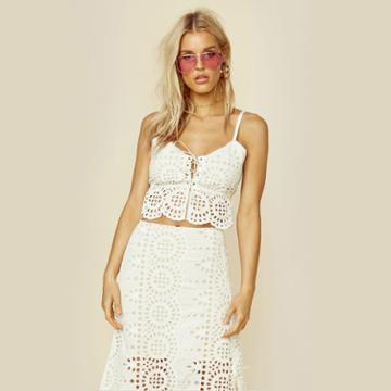 Winston White Ande Crop Top