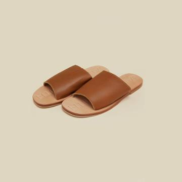 James Smith Off Duty Leather Slide