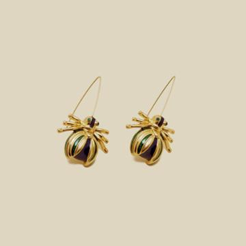 For Love And Lemons Beetle Drop Earring Accessories