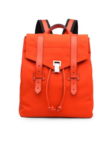 Ps1 Nylon Backpack-fire Red