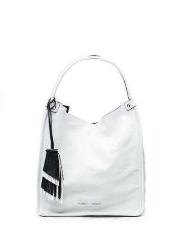 Medium Tote-optic White