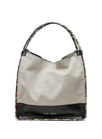 Large Tote-black/white