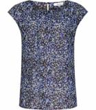 Reiss Victoria Printed Chiffon Top
