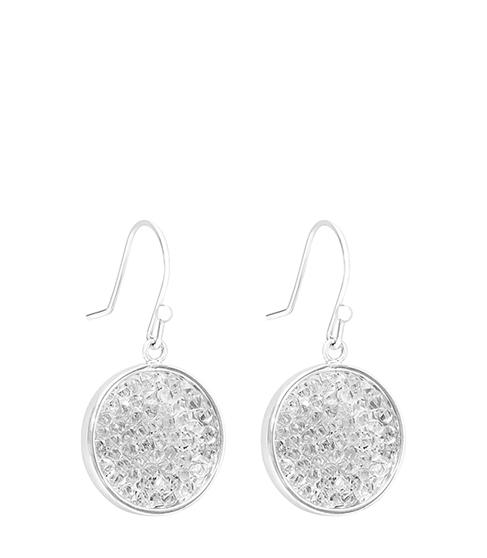 Reiss Rhea Embellished Earrings With Crystals From Swarovski