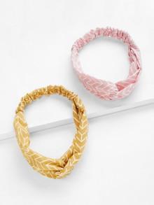 Romwe Twist Headband 2pcs