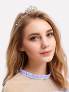 Romwe Rhinestone Crown Decorated Headband