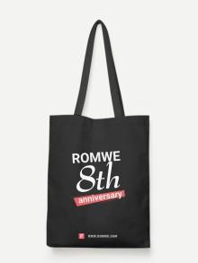 Romwe Romwe Slogan Bag