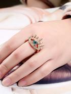 Romwe Eye Design Ring