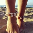 Romwe Shell Decorated Anklet
