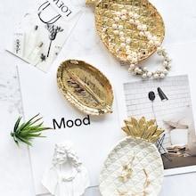 Romwe Pineapple Design Jewelry Storage Tray 1pc