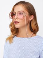 Romwe Beaded Design Glasses Chain