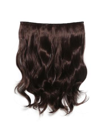Romwe Black Cherry Clip In Soft Wave Hair Extension