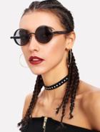 Romwe Round Lens Sunglasses